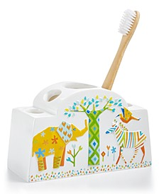 Origami Jungle Toothbrush Holder
