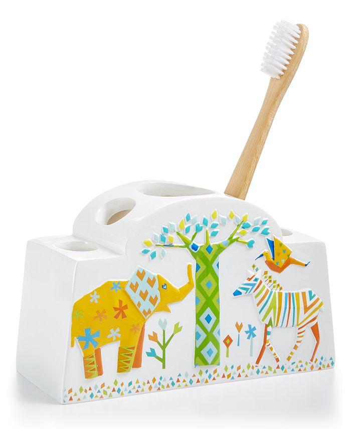 Creative Bath - Origami Jungle Toothbrush Holder
