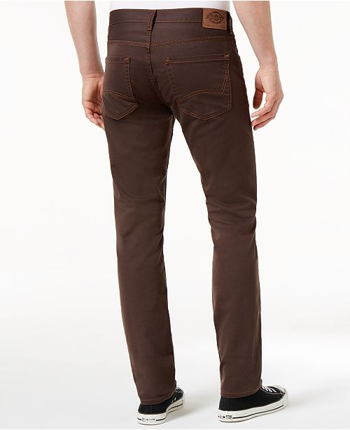 4d6a6c3a Dickies Men's FLEX 5-Pocket Twill Slim Tapered Pant & Reviews ...
