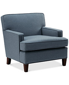 Jeorge Accent Chair, Quick Ship
