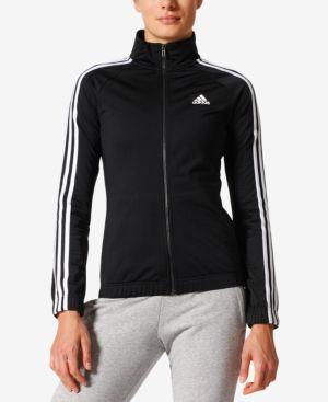 Adidas Designed 2 Move Track Jacket, Black/White