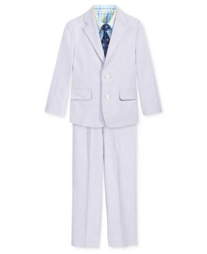 Nautica 4-Piece Chambray Suit Set, Toddler & Little Boys