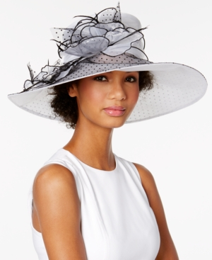 Edwardian Style Hats, Titanic Hats, Derby Hats August Hats Buttercup Dressy Hat $72.00 AT vintagedancer.com