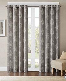 "Madison Park Montclair Texture Damask-Print 50"" x 95"" Window Panel"
