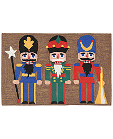 "Liora Manne Front Porch Indoor/Outdoor Nutcracker Multi 2'6"" x 4' Area Rug"