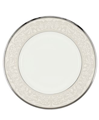 """""""Silver Palace"""" Dinner Plate"""