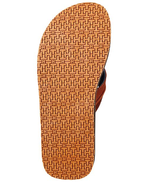 e6abc62649253 Tommy Hilfiger Men s Davidson Flip-Flops   Reviews - All Men s Shoes ...