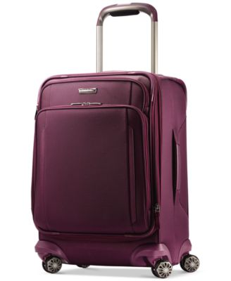 "Image of Samsonite Silhouette XV 21"" Carry On Spinner Suitcase"
