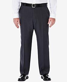 Men's Big & Tall ECLO Stria Classic-Fit Flat-Front Hidden Expandable Waistband Dress Pants