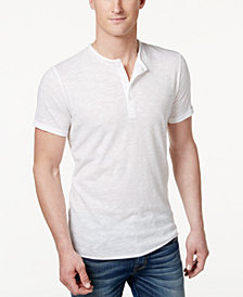 American Rag Men's Henley T-Shirt, Created for Macy's