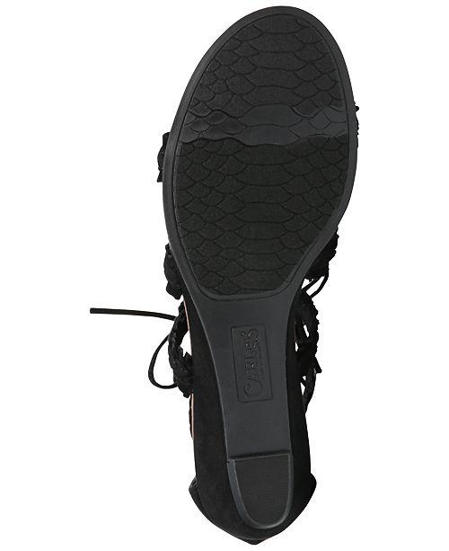 6453b491ba96 Carlos by Carlos Santana Kenzie Lace-Up Gladiator Sandals   Reviews ...