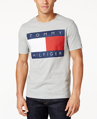 tommy hilfiger men 39 s old skool graphic print t shirt. Black Bedroom Furniture Sets. Home Design Ideas