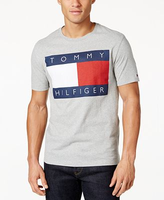 tommy hilfiger men 39 s old skool graphic print t shirt t. Black Bedroom Furniture Sets. Home Design Ideas
