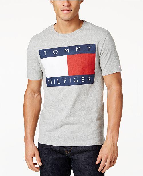 f7263d05cf363 ... Tommy Hilfiger Men s Old Skool Graphic-Print T-Shirt