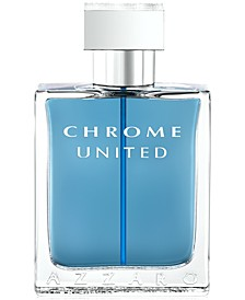 Men's CHROME UNITED Eau de Toilette Spray, 1.7 oz