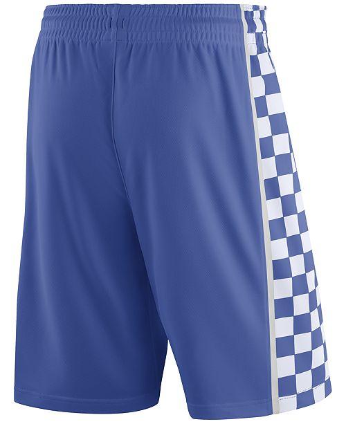 115fd451661 Men's Kentucky Wildcats Replica Basketball Shorts