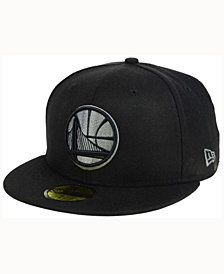 New Era Golden State Warriors Black Graph 59FIFTY Cap