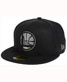 New Era Golden State Warriors Black Graph 59FIFTY Cap