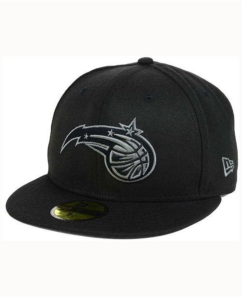 New Era Orlando Magic Black Graph 59FIFTY Cap