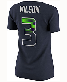 Nike Women's Russel Wilson Seattle Seahawks Pride Modern 1.0 T-Shirt