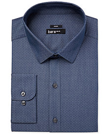 Bar III Men's Slim-Fit Stretch Dress Shirt, Created for Macy's
