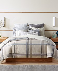Modern Plaid Bedding Collection, Created for Macy's