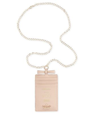 kate spade new york Cameron Street Whistle While You Work Lanyard