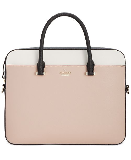 best loved 91428 9fad0 kate spade new york 13-Inch Saffiano Laptop Bag & Reviews ...
