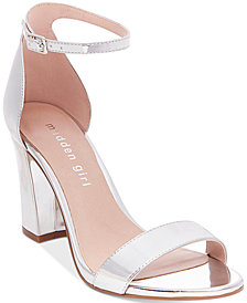 Madden Girl Bella Two-Piece Block Heel Sandals