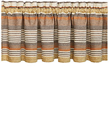 "J Queen New York Montaneros 88"" x 14"" Straight Window Valance"