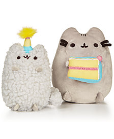 Gund® Pusheen Birthday Collectible Set