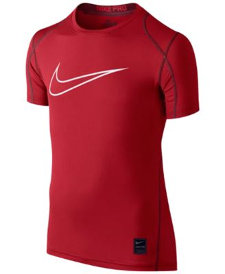 Image of Nike Boys' Pro Cool Dry-FIT Performance Swoosh Tee, Boys 8-20