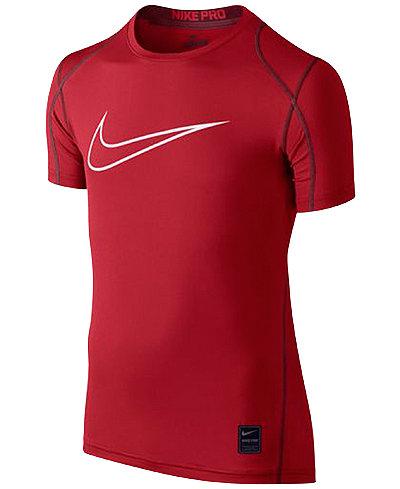 Nike Pro Cool Dry Fit Performance Swoosh Tee Big Boys