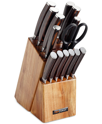 Top Chef 15 Pc Dynasty Cutlery Set Cutlery Amp Knives