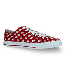 Row One Wisconsin Badgers Victory Sneakers