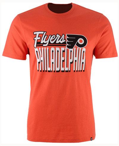 '47 Brand Men's Philadelphia Flyers Script Splitter T-Shirt