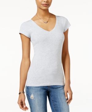Juniors' V-Neck T-Shirt