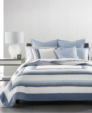 Hotel Collection Frame King Quilt, Only at Macy's Bedding