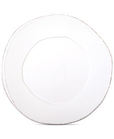 Vietri Lastra Collection European Dinner Plate
