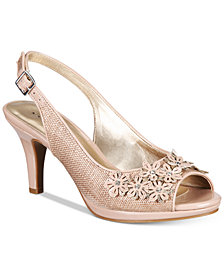 Karen Scott Bronaa Sling-Back Pumps, Created for Macy's