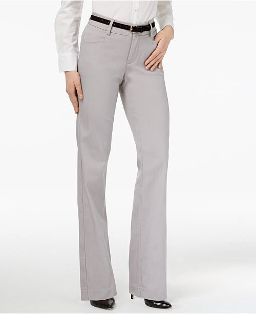 a6ef26735 Lee Platinum Madelyn Straight-Leg Trousers   Reviews - Pants ...