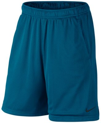 "Image of Nike Men's 9"" Dri-Fit Mesh Training Shorts"