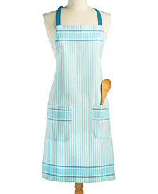 Martha Stewart Collection Jacquard Striped Apron, Created for Macy's