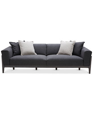 jenelle sofa with 4 toss pillows only at macy 39 s furniture macy 39 s