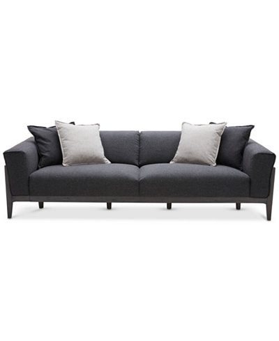 Jenelle Sofa with 4 Toss Pillows, Created for Macy's. Furniture - Jenelle Sofa With 4 Toss Pillows, Created For Macy's - Furniture
