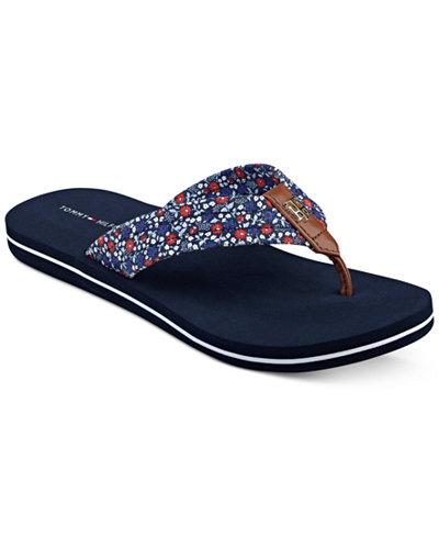 tommy hilfiger women 39 s corbett flip flop sandals sandals. Black Bedroom Furniture Sets. Home Design Ideas