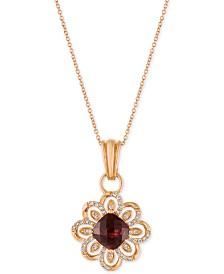Garnet gemstone jewelry macys aloadofball Choice Image