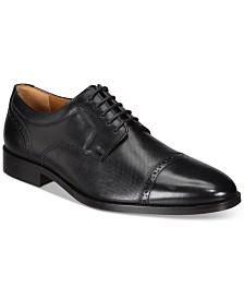 Johnston & Murphy Men's Hernden Cap-Toe Oxfords