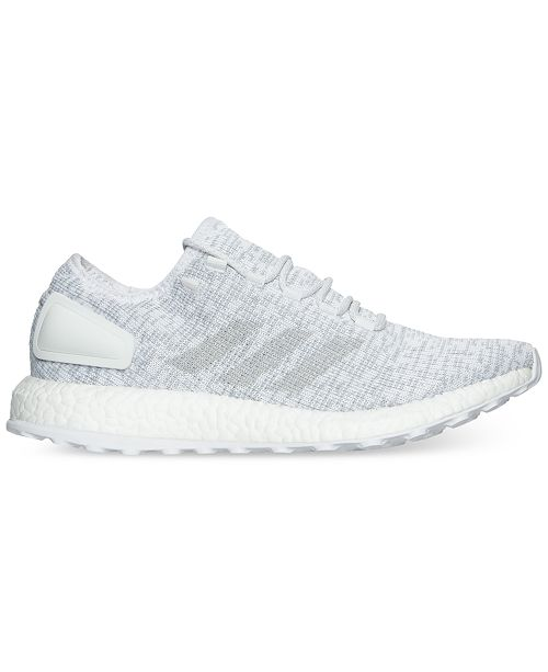 009f21095 adidas Men s Pure Boost Running Sneakers from Finish Line   Reviews ...