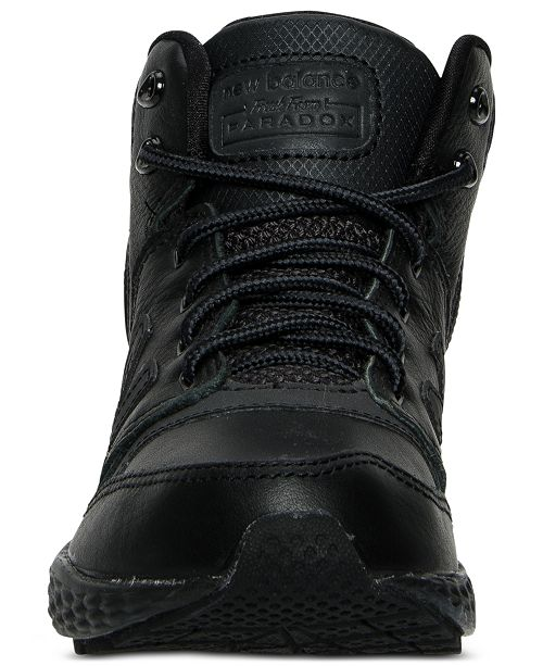 39a1388eb334c ... New Balance Boys' Fresh Foam Paradox Casual Sneaker Boots from Finish  ...